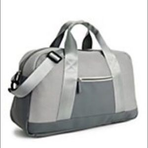 NWT Grey/Silver Duffle Bag